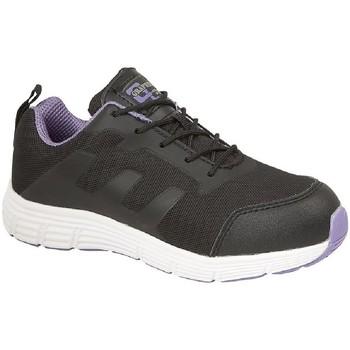 Sapatos Mulher Sapatilhas Grafters  Preto/Lilás