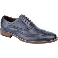 Sapatos Homem Richelieu Goor  Azul Egeu