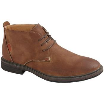 Sapatos Homem Botas baixas Goor  Tan