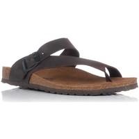 Sapatos Homem Sandálias Interbios 9511 Castanho