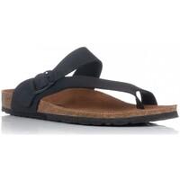 Sapatos Homem Sandálias Interbios 9511 Preto