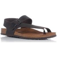 Sapatos Homem Sandálias Interbios 9512 Castanho