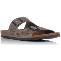 Sapatos Homem Chinelos Interbios 9560 Castanho