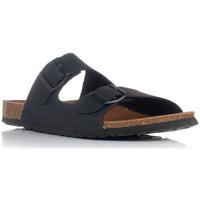 Sapatos Homem Chinelos Interbios 9560 Preto