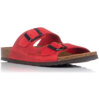 Sapatos Mulher Chinelos Interbios 7206 Vermelho