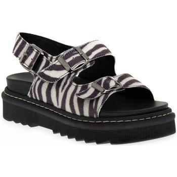 Sapatos Mulher Sandálias Sono Italiana SANDALO Nero