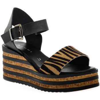 Sapatos Mulher Sandálias Sono Italiana CRAST NERO Nero