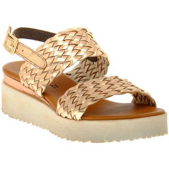 Sapatos Mulher Sandálias Sono Italiana LAMINATO RAME Marrone