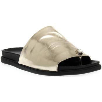 Sapatos Mulher Chinelos Sono Italiana LAMINATO PLATINO Grigio