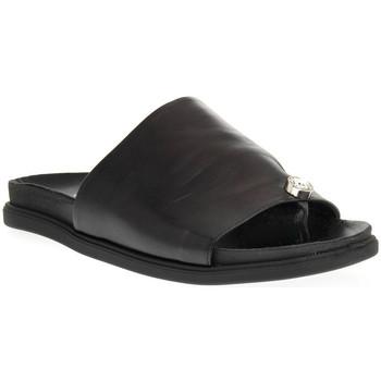 Sapatos Mulher Chinelos Sono Italiana NAPPA NERO Nero
