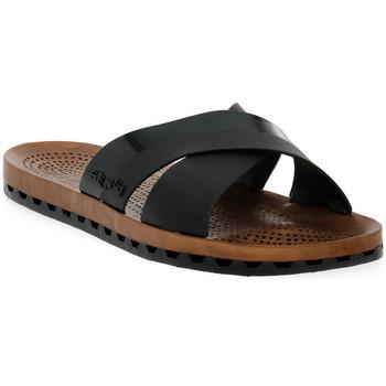 Sapatos Mulher Chinelos Sensi 001 AMALFI NERO Nero