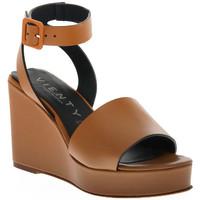 Sapatos Mulher Sandálias Vienty CUERO NOX Marrone