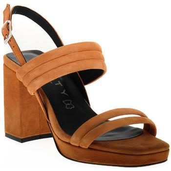 Sapatos Mulher Sandálias Vienty TAN JIM Marrone