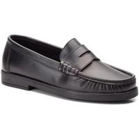 Sapatos Homem Mocassins Cbp - Conbuenpie Castellano de piel de hombre by Marttely Desing Noir