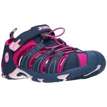 Sapatos Rapariga Sandálias desportivas Joma 2003 Navy Purple Niña Azul marino bleu