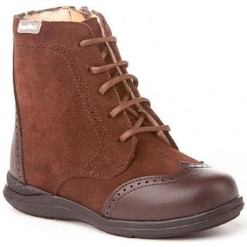 Sapatos Mulher Botas baixas Cbp - Conbuenpie Botin de mujer de piel by PEPE MENARGUES (TUPIE) Marron