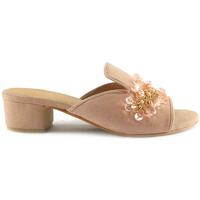 Sapatos Mulher Chinelos Parodi Sunshine 53/1852 Bege