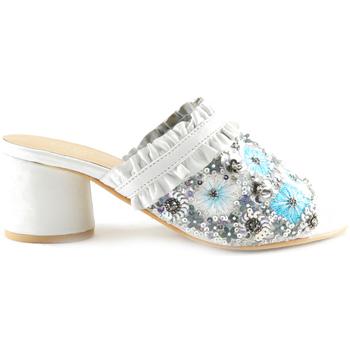 Sapatos Mulher Chinelos Parodi Sunshine 53/1855 Branco
