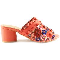 Sapatos Mulher Chinelos Parodi Sunshine 53/1855 Laranja