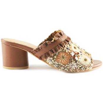 Sapatos Mulher Chinelos Parodi Sunshine 53/1855 Castanho