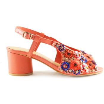 Sapatos Mulher Sandálias Parodi Sunshine 53/1856 Laranja