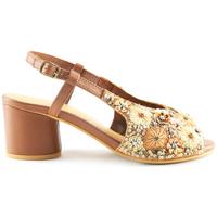 Sapatos Mulher Sandálias Parodi Sunshine 53/1856 Castanho