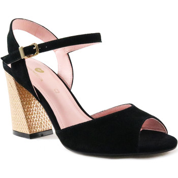 Sapatos Mulher Sandálias Parodi Passion 77/2744/04 Preto