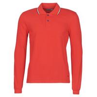 Textil Homem Polos mangas compridas Casual Attitude NILE Vermelho