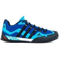 Sapatos Homem Sapatos de caminhada adidas Originals Terrex Swift Solo Preto, Azul, Azul marinho