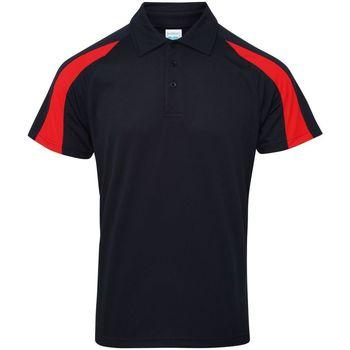 Textil Homem Polos mangas curta Awdis JC043 Marinha francesa/Fire Red