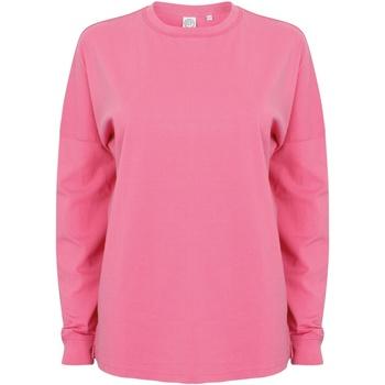 Textil Homem Sweats Skinni Fit Slogan Cor-de-Rosa Brilhante