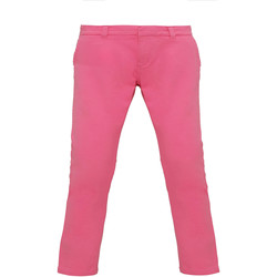 Textil Mulher Chinos Asquith & Fox Chino Cravos cor-de-rosa
