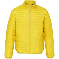 Textil Homem Casacos  2786 TS018 Amarelo Brilhante