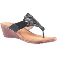 Sapatos Mulher Sandálias Divaz  Preto