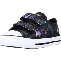 Sapatos Rapariga Sapatilhas Converse CTAS 2V OX Preto