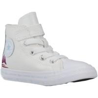 Sapatos Rapariga Sapatilhas Converse CTAS 1V HI Branco