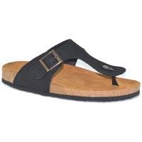 Sapatos Homem Chinelos Morxiva Shoes Sandalia de hombre de piel by Pepe Agullo Noir