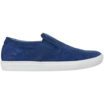 Sapatos Homem Mocassins Lacoste Alliot Slipon Azul