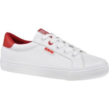 Sapatos Mulher Sapatilhas Big Star EE274311 Branco, Vermelho