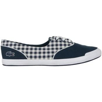Sapatos Mulher Sapatilhas Lacoste Lancelle Lace 3 Eye 216 1 Spw Branco, Azul marinho
