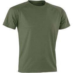 Textil T-Shirt mangas curtas Spiro Aircool Flo Verde