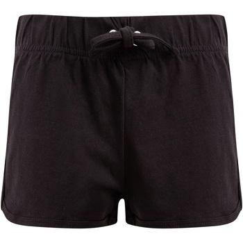 Textil Criança Shorts / Bermudas Skinni Fit SM069 Preto/ Negro