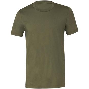 Textil T-Shirt mangas curtas Bella + Canvas CV001 Verde Militar