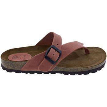 Sapatos Mulher Sandálias Interbios Sandalias  7119 Teja Laranja