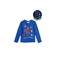 Textil Rapaz T-shirt mangas compridas TEAM HEROES  SPIDERMAN Azul