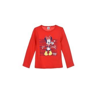 Textil Rapariga T-shirt mangas compridas TEAM HEROES  MINNIE Vermelho