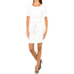 Textil Mulher Vestidos curtos Armani jeans Vestido manga corta Branco