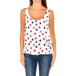 Textil Mulher Tops / Blusas Armani jeans Top de tirantes Multicolor