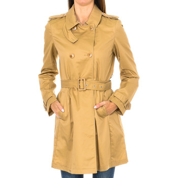 Textil Mulher Trench Armani jeans Chaqueta Bege