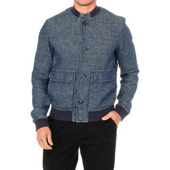 Textil Homem casacos de ganga Armani jeans Chaqueta Azul